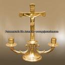 Castiçal com cruz