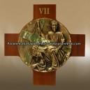 Via Sacra - Brass and Wood