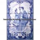 Saint Anthony - Blue